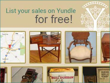 List your sales on Yundle