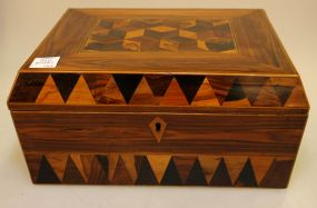 J. Derinck Inlaid 19th Century Box