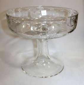 William Yeoward Scylla Crystal Centerpiece retired