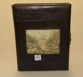 19th Century Leather Box