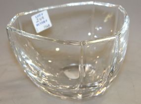 Signed Tiffany & Company Crystal Bowl