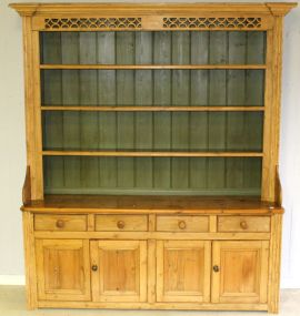 Antique Pine Hutch/ Welsh Dresser