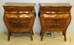 Pair of Early French Nightstands