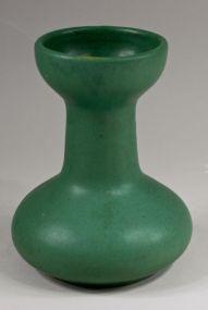 Zanesville Pottery Matte Green Arts & Crafts Vase