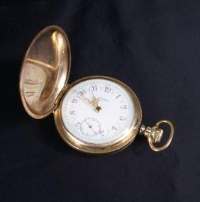 Elgin Hunter Case Pocket Watch