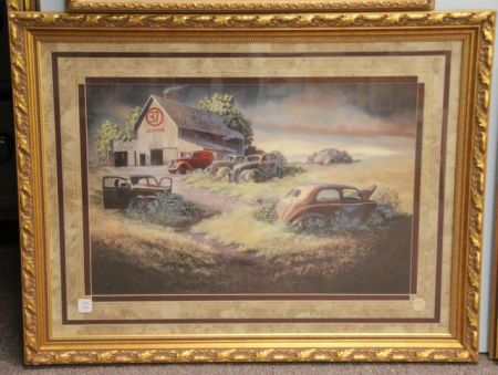 1401 Donna Wolfkill Car Print - March Online Only Auction 2016