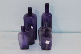 Bottles june estate sale auction 2016 page 1 for Purple wine bottles for sale
