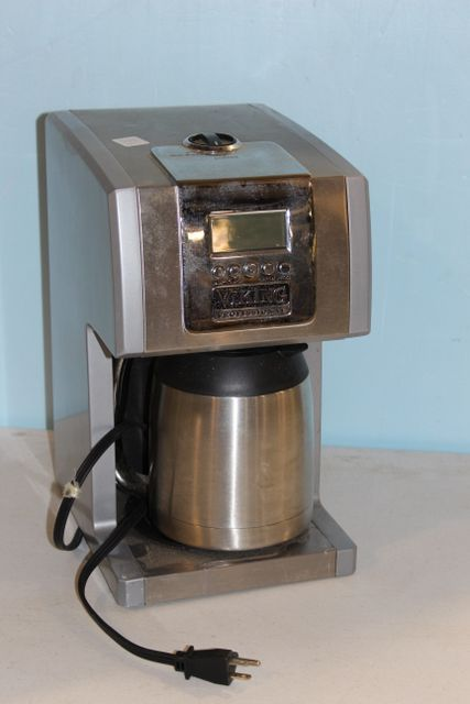 How To Use Viking Professional Coffee Maker : 0234 Viking Professional 12 Cup Coffee Maker - Second July Online Only Auction