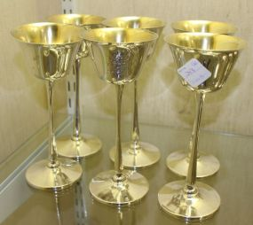 Six Baltimore Silversmiths / Heer-Schofield Sterling Silver Goblets