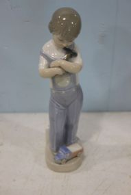 Lladro Figure of Mechanic Boy