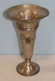 Sterling Silver Vase with
