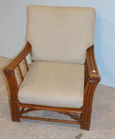 Haywood Wakefield Ashcraft Chair with Cushion