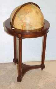 Replogle World Classic Globe in Stand with Castors