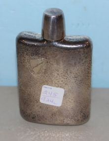 Sterling Flask Engraved William
