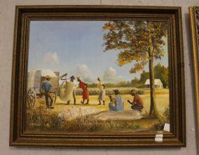 C. Cumming Painting of Cotton Farm