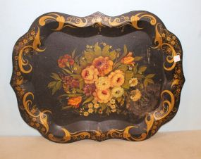 Large Toile Tray