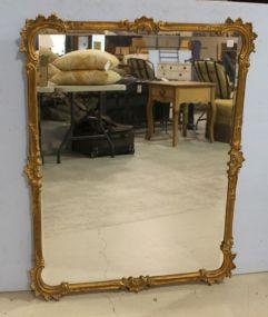 Gilt Beveled Edge Mirror