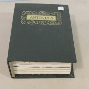 Complete Twelve Volume Set of 1974 Antiques Magazines