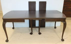 Chippendale Ball and Claw Table with Four Leaves