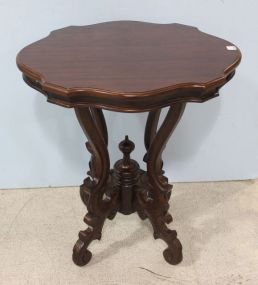Victorian Style Mahogany Imported Table