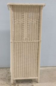 Wicker Pulpit or Lectern with Cross Front
