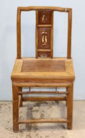 Chinese Altar Chair with Inlay