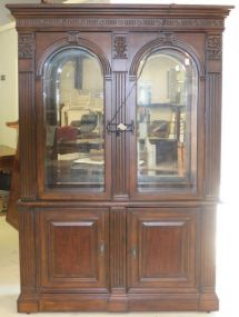 Bernhardt Two Piece China Cabinet