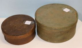 Two Wooden Shaker Boxes
