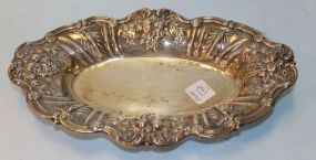 Reed and Barton Sterling Silver Francis I Oval Bread Plate