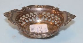 Gorham Sterling Nut Dish or Pin Cushion Holder
