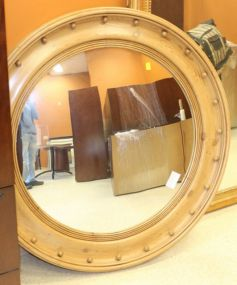 Large Bulleye Style Convex Glass Mirror