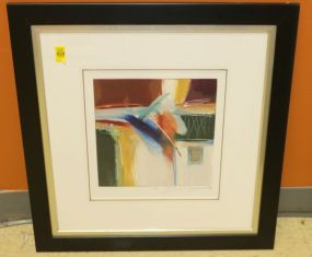 Ann Degara Matted and Framed Original Art Signed
