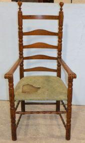 Early Oak Arm Chair
