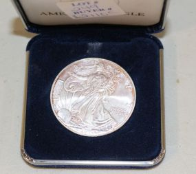 2007 Fine Silver One Dollar Walking Liberty