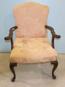 Upholstered Arm Chair with Upholstered Back and Seat