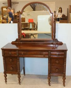 Thomasville Mirrored Vanity with Seven Drawers