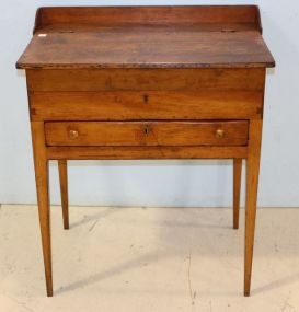 Primitive Maple Desk with Drawer