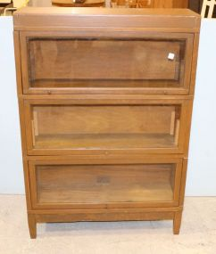 Globe Wernicke Three Stack Barrister Bookcase