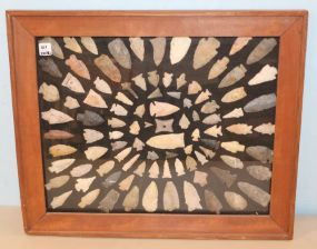 Framed Arrow Head Collection