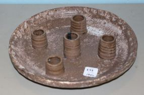 Brown McCarty Five Light Candle Holder