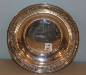 Webster Sterling Round Bowl