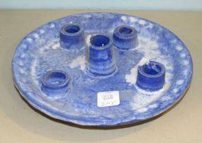 McCarty Five Light Blue Candleholder