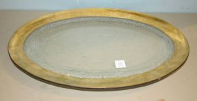 Annie Glass Oval Platter