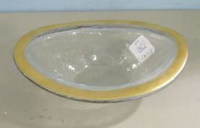 Annie Glass Oval Dish