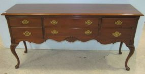 Queen Anne Mahogany Sideboard