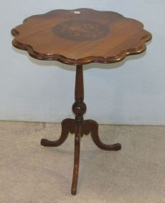 Inlaid Tilt Top Table