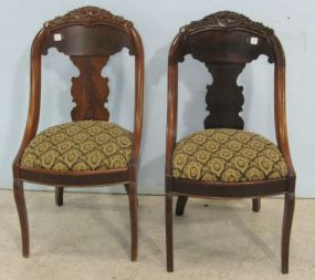 Pair of Victorian Mahogany Chairs