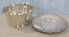 Sterling Bowl and Underplate