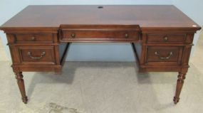 Home Meridian Collins Banded With Inlay Desk