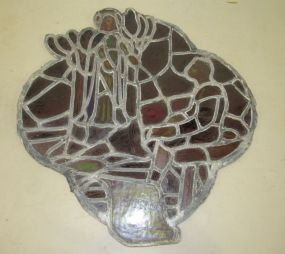 Religious Themed Leaded Glass